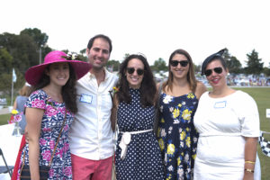 Family House Young Business Leaders attend the Family House Polo Match