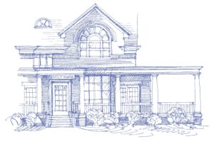 Family House Neville sketch